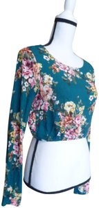 Polly & Esther Top Teal