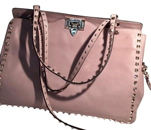 Valentino Tote in Dusty Light Pink