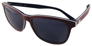 Lacoste New LACOSTE Sunglasses L833S 615 Red White Blue Frame 55-17 140 Grey L