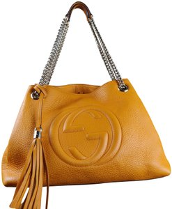 04ee0a15ba9d Yellow Gucci Shoulder Bags - Up to 90% off at Tradesy