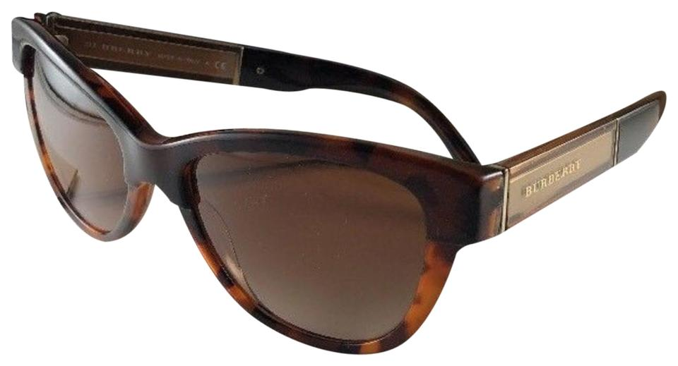 1723ddcc54e6 Burberry New BURBERRY Cat Eye Sunglasses B 4206 3559 13 Tortoise Frame  55-17 ...