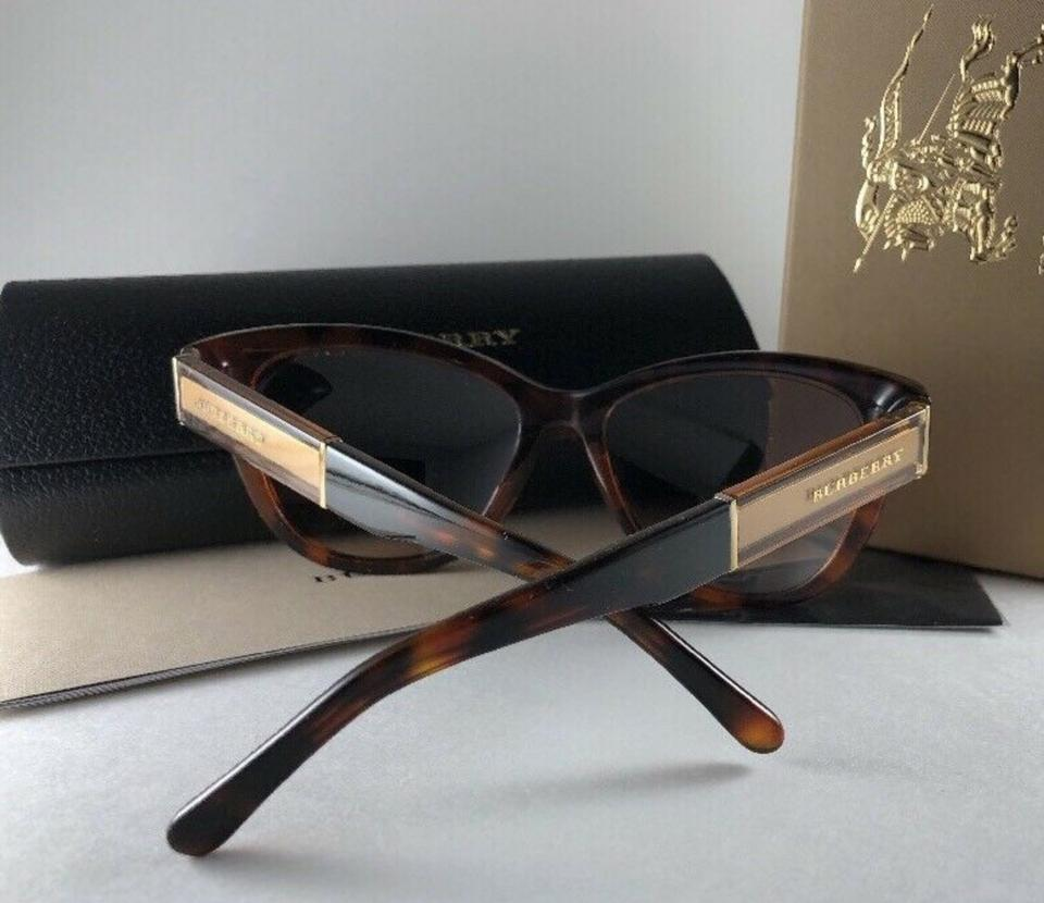 2277025fef9e Burberry New BURBERRY Cat Eye Sunglasses B 4206 3559 13 Tortoise Frame  55-17. 123456789101112