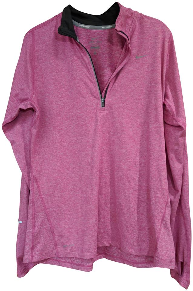 ace8650e6dd50 Nike Pink Element Shirt Activewear Top Size 8 (M) - Tradesy