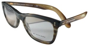 Burberry New BURBERRY Eyeglasses B 2212 3551 Brown Amber Horn Frame 54-18 140