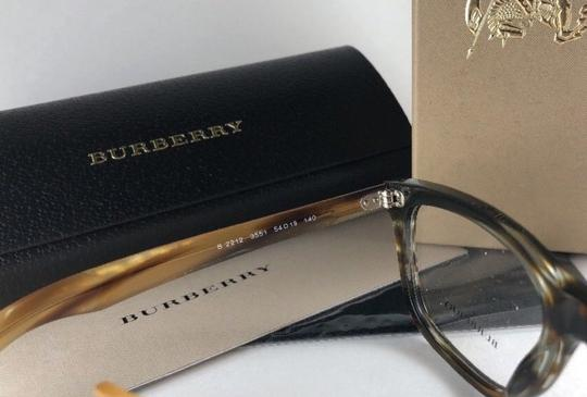 Burberry New BURBERRY Eyeglasses B 2212 3551 Brown Amber Horn Frame 54-18 140 Image 11