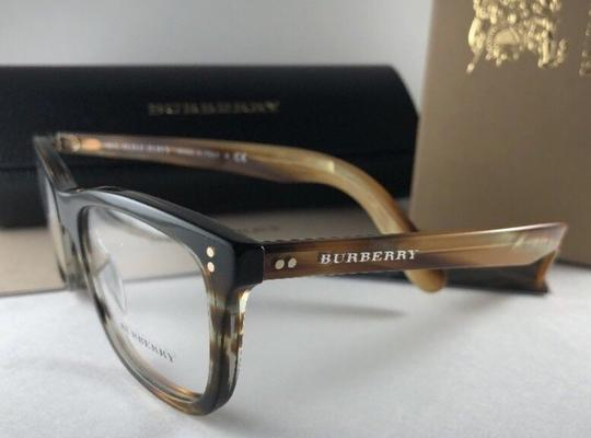 Burberry New BURBERRY Eyeglasses B 2212 3551 Brown Amber Horn Frame 54-18 140 Image 2