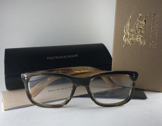 Burberry New BURBERRY Eyeglasses B 2212 3551 Brown Amber Horn Frame 54-18 140 Image 7