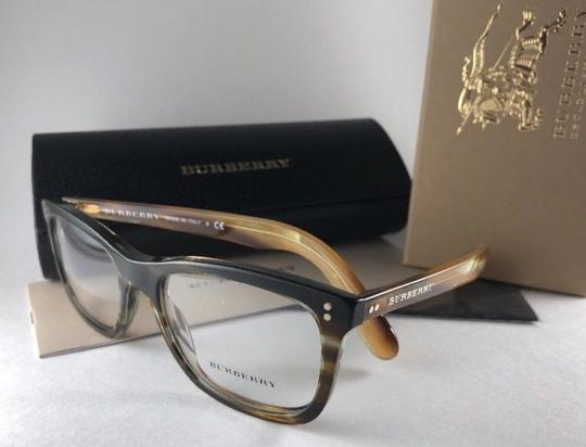 Burberry New BURBERRY Eyeglasses B 2212 3551 Brown Amber Horn Frame 54-18 140 Image 9