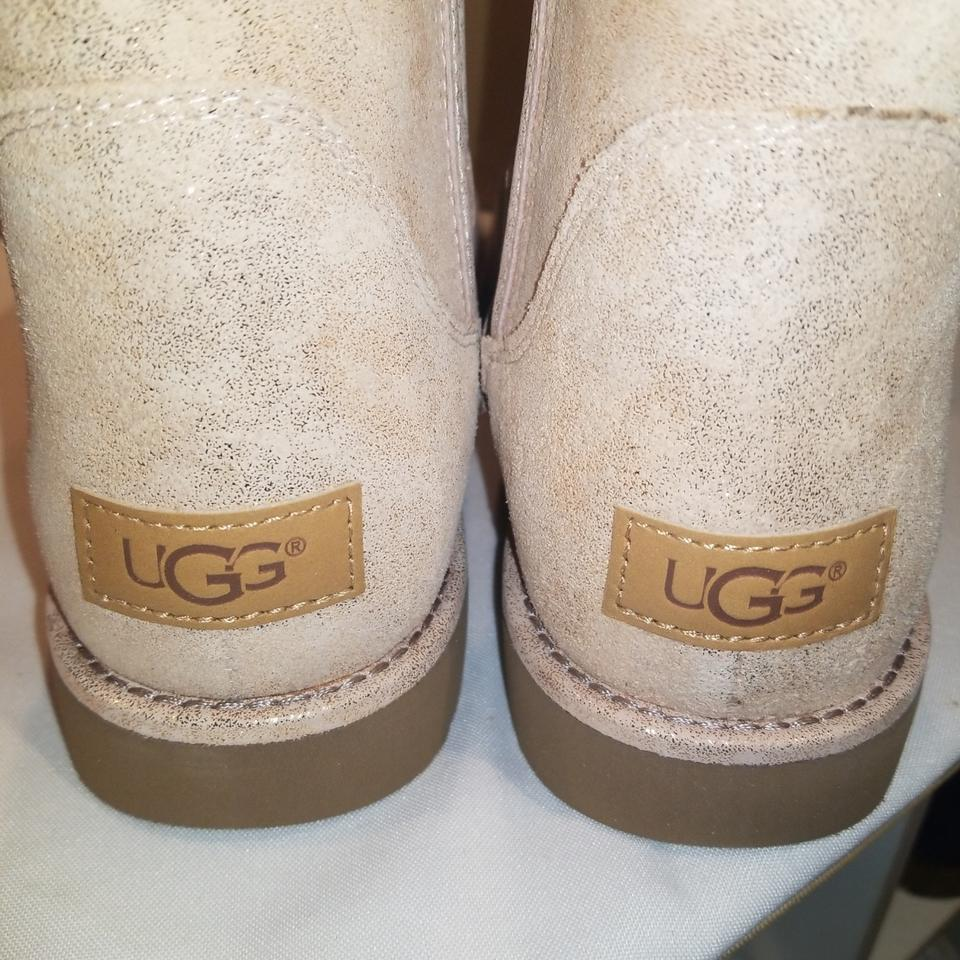 4b8dba86d UGG Australia Rosegold W Model Abree Mini Stardust Boots/Booties ...