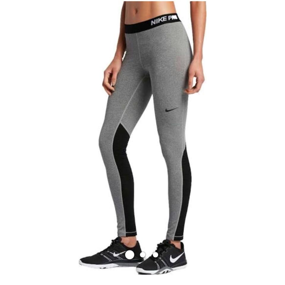 97e41e5bf24 Nike Grey Girl L Pro Warm Tights L*nwt Activewear Bottoms Size 12 (L ...
