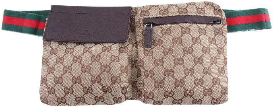 28f745c919e Gucci Gg Belt Multicolor Canvas Cross Body Bag - Tradesy