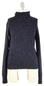 Billy Reid Thick Speckled Wool Yarn Longsleeve Sweater