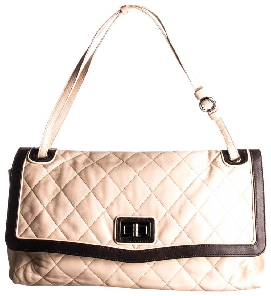 4f91dae7f118 Chanel Classic Flap Mademoiselle Light Brown Quilted Maxi Beige Lambskin  Leather Shoulder Bag