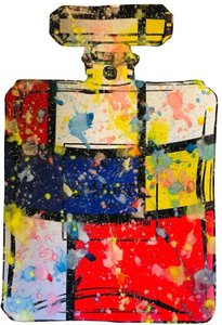 Chanel CHANEL NO. 5 MONDRIAN PAINTING by MR. CLEVER ART