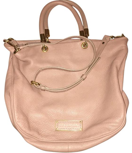 Item - Too Hot To Handle Blush Leather Hobo Bag