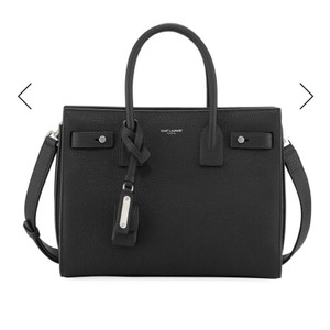 1ab4c1e9a Saint Laurent Sac de Jour Nano Toy 'sac De Jour' Black Leather Tote ...