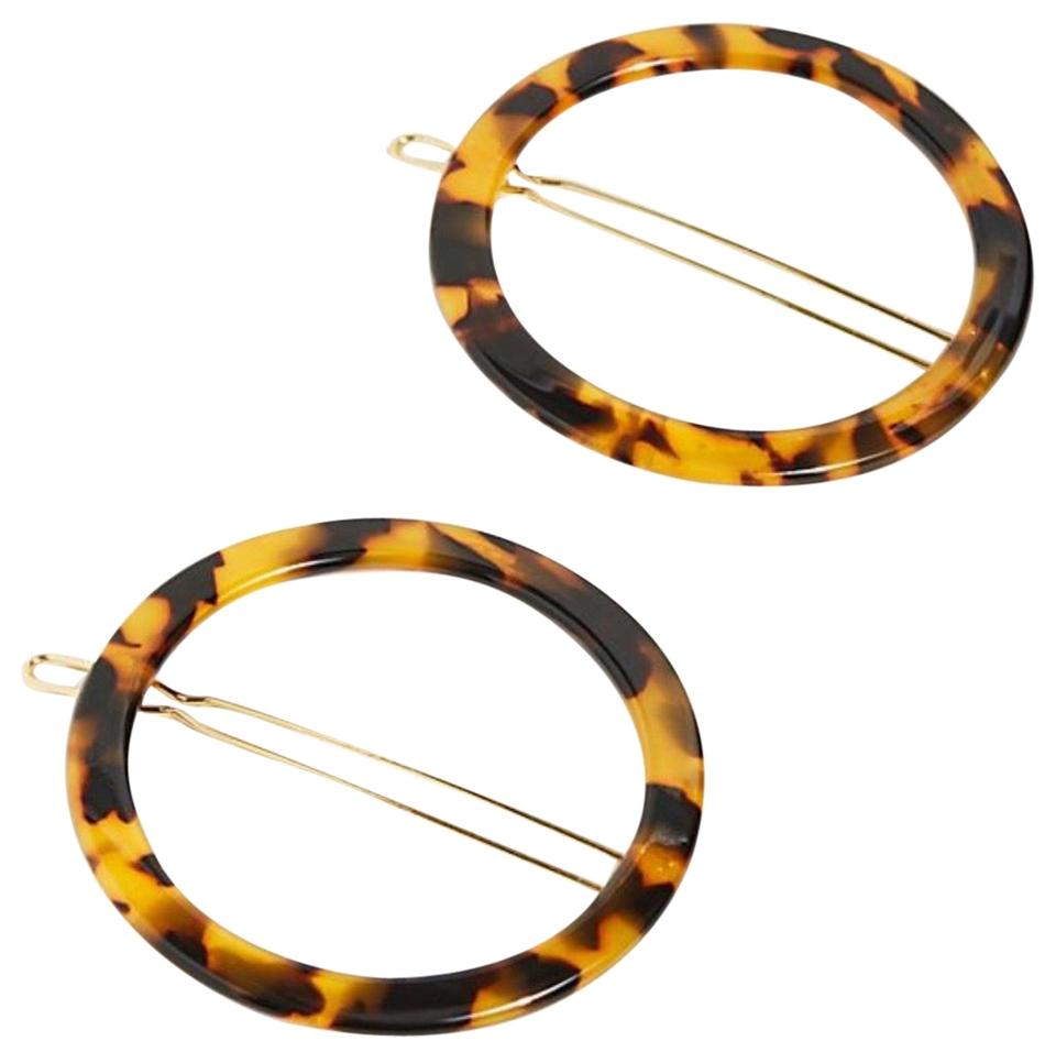 95ff5133 Free People Resin Hoop Clip Set Of 2 Hair Accessory - Tradesy