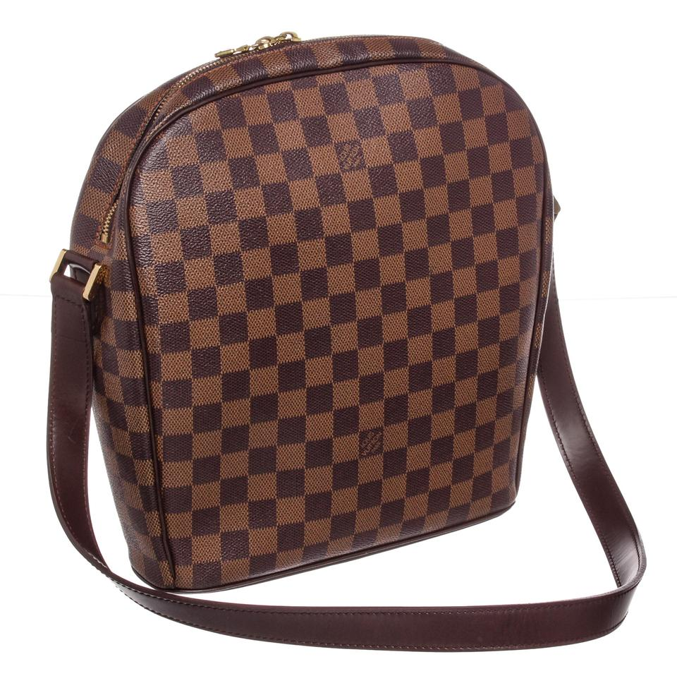 400a49e8f91d Louis Vuitton Ipanema Gm Damier Ebene Canvas and Leather Cross Body Bag -  Tradesy