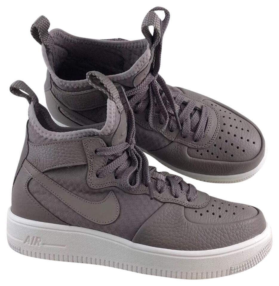 Nike Women s Air Force 1 Ultraforce Mid Sneakers Features A Breathable Easy  On Bootie Ultralight Cushioning and Accents Sneakers e07667d7517f