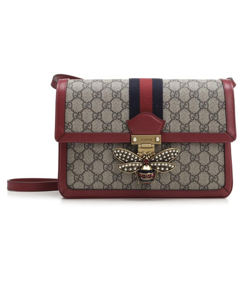 ff41d599f7c Gucci Queen Margaret Gg Supreme Medium Shoulder Bag - Tradesy
