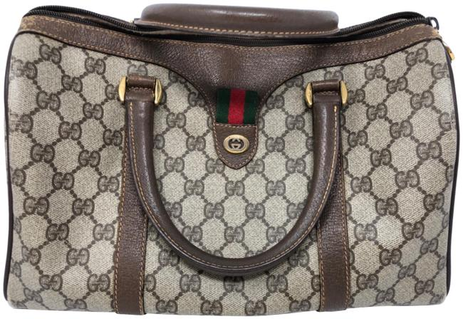 Gucci Vintage Sherry Web Doctor Satchel Gucci Vintage Sherry Web Doctor Satchel Image 1