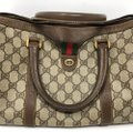 Gucci Vintage Sherry Web Doctor Satchel Gucci Vintage Sherry Web Doctor Satchel Image 2