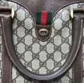 Gucci Vintage Sherry Web Doctor Satchel Gucci Vintage Sherry Web Doctor Satchel Image 3
