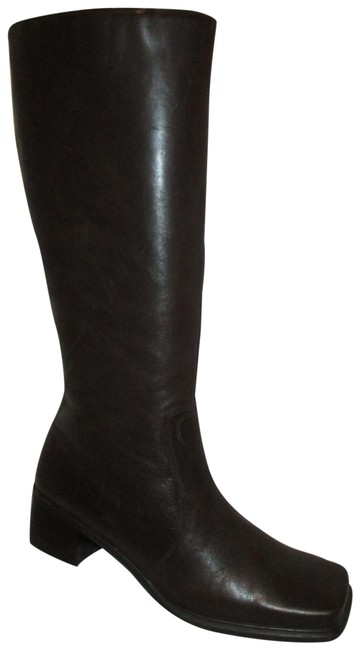 """Item - Brown Ultima Series """"Jeannine"""" Tall Boots/Booties Size US 9 Narrow (Aa, N)"""