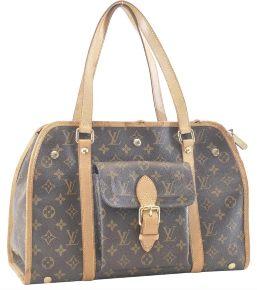 0dd876a2fad6 Louis Vuitton Baxter Pet Carrier Lv Dog Carrier Satchel in Brown monogrammed  Image 0 ...