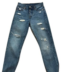 Levi's Boot Cut Jeans-Distressed