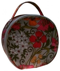 Vera Bradley Hatbox Cosmetic Case in Tea Garden