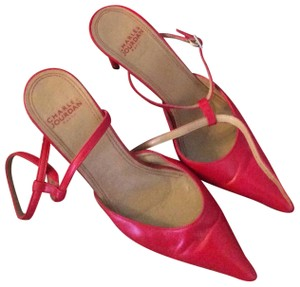 Charles by Charles David Red Mules