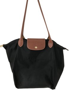 9ef1d2aa4ed Added to Shopping Bag. Longchamp Le Pliage Bookbag Shoulder Tote in Black