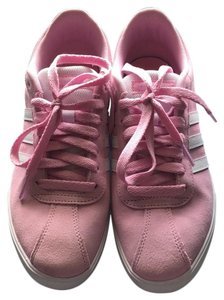 adidas pink and white Athletic