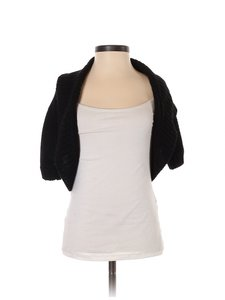 White House | Black Market Shrug Metallic Sweater Cardigan