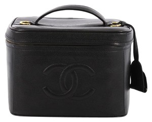 afa206fc4433 Chanel Vintage Timeless Vanity Case Caviar Small - item med img. Chanel. Black  Vanity Case Vintage Timeless Caviar Small Cosmetic Bag