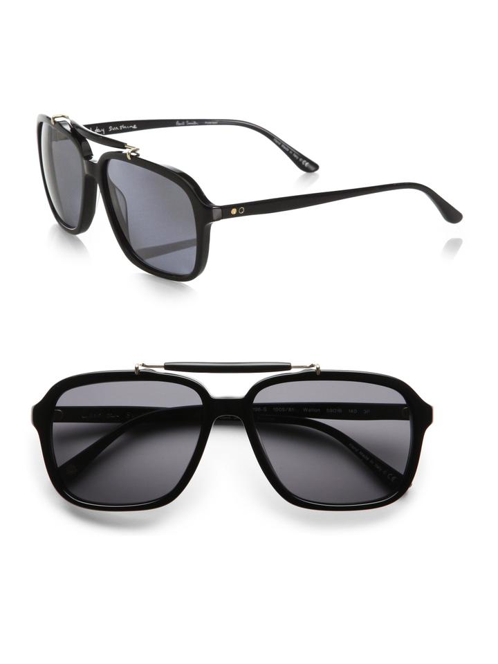 b306f437f6 Paul Smith Paul Smith Walton Black Onyx Sunglasses Handmade in Italy -  PM8196S ...