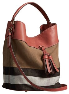 7be84b859227 Burberry Hobo Bag. Burberry Hobo Bag · Burberry. Brit Grainy Check Medium  Ashby Tassel Multicolor Leather  Canvas ...