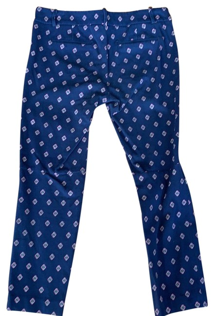 Item - Navy A6623 Cropped Ankle Pant Capris Size 6 (S, 28)