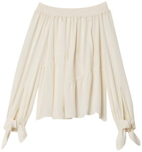 Derek Lam Top Silk White