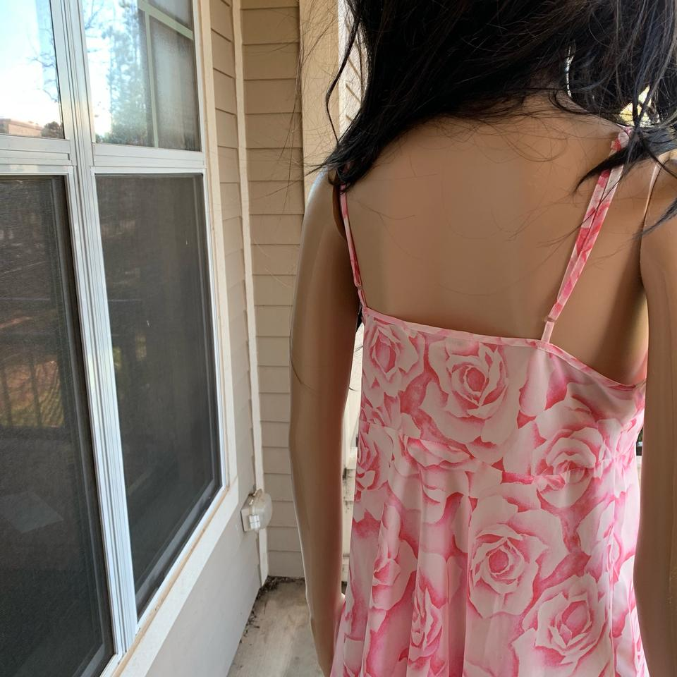 cc460a195e3 Victoria s Secret Pink Floral Babydoll Lingerie Sleepwear Mid-length Night  Out Dress Size 8 (M) - Tradesy