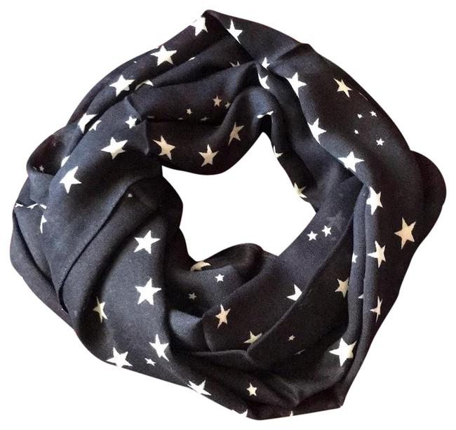 Item - Navy With Tag Scarf/Wrap