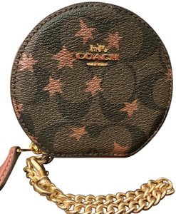 Coach Zip Around Coin Case/Wristlet/Change Holder