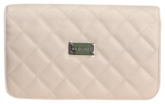 Item - Quilted Gelato (Light Pink) Leather Cross Body Bag