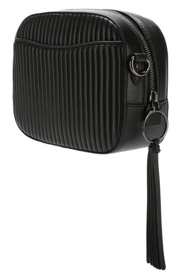 37593dc942 Coach Embellished Quilted 31649 Black Leather Cross Body Bag - Tradesy