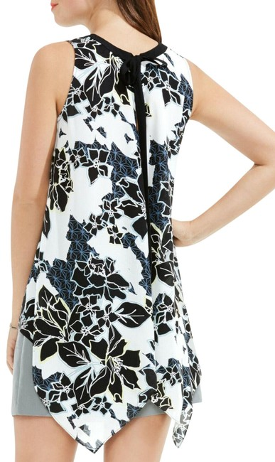 Preload https://img-static.tradesy.com/item/24881600/vince-camuto-black-and-white-floral-exhibit-tie-specialty-pm-blouse-size-petite-10-m-0-1-650-650.jpg