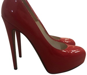 Brian Atwood red Platforms