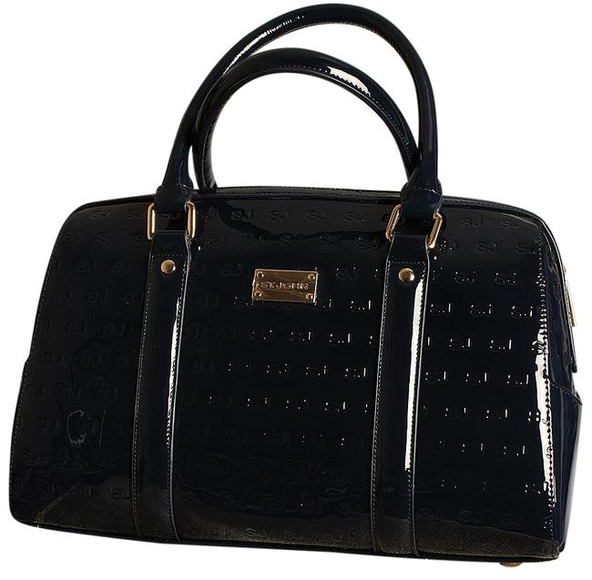 Item - Doctor Dark Navy Blue Patent Leather Tote