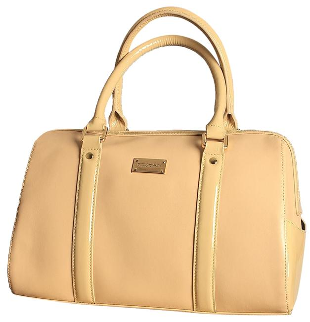 Item - Smooth Doctor Light Tan/Beige Leather Tote