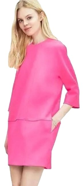 Item - Pink Br Neon Shift Short Casual Dress Size 8 (M)